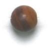 Semi-Precious 6mm Round Petrified Wood
